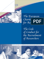 Comissão Europeia (2005) The European Charter for Researchers - The Code of Conduct for the Recruitment of Researchers