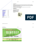 Cj750 m1 Partslist