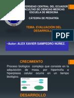 EXPOSICIÓN DE PEDIATRÍA