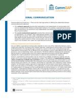 Organizational Comm Web