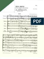Kyrie Mozart Missa Brevis
