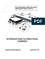 us army medical introduction to practical nursing