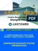 Generator Auxiliary System Presentation