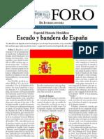 Historia heráldica. El escudo y la bandera de España