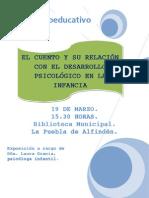 Flyer El Cuento, 19 Marzo