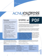 ACNUExpress Vol.2 No.1 - Juin 2003