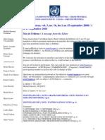 ACNUExpress Vol.3 No.16 - Du 1 Au 15 Septembre 2008