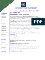 ACNUExpress Vol.3 No.20 - Du 1 Au 15 Novembre 2008