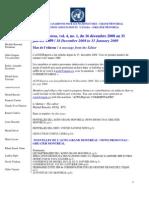 ACNUExpress Vol.4 No.1 - Du 16 décembre 2008 Au 31 Janvier 2009