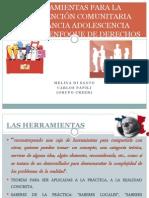 HERRAMIENTAS PARA LA INTERVENCIÓN EN INFANCIA Y ADOLESCENCIA