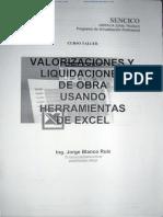 64596949 Libro de Valorizaciones y Liquidaciones de Obra Sencico