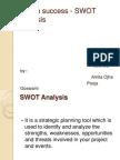 Fesibilty Analysis swot analysis
