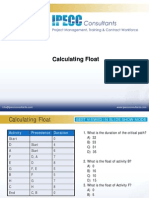 Calculating Float