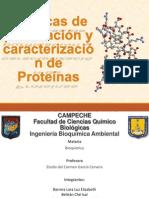 Técnicas de purificación y caracterización de Proteínas