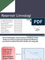 Reservoir Limnologi