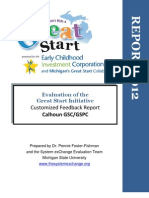 Calhoun 2012 Great Start Evaluation Executive Summary