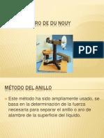 Tensiómetro de Du Nouy