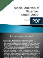 Financial Analysis of Pfizer Inc