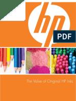 Value of Original HP Inks