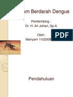 Presentasi Referat Anak Dbd