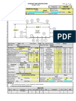 API 650 Tank Design Calculation