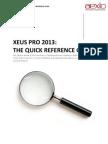 Aexio Xeus Pro 2013 Quick Guide