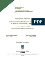 2006-LA COMUNICACIÓN MULTIMEDIAL COMO MEDIADORA EN EL PROCESO DE CAPÀCITACION A DISTANCIA. UNA MIRADA A LA PLATAFORMA SIAT (SISTEMA INFORMÁTICO DE APOYO A LA TELEFORMACIÓN)