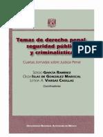 Temas de Derecho Penal Seguridad Publica y Criminalistica - PDF