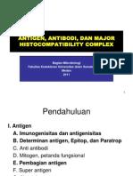 Antigen, Antibodi, & MHC