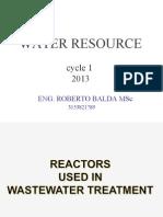 Reactors in Wwt