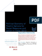 Political Economy of Food Social Action India 2013_V2