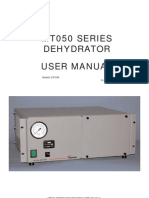 MT050 Series Dehydrator User Manual