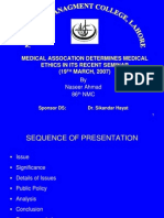 Development of Medical Ethics26!03!07