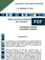Programacion y Planeacion de La Produccion