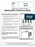 Workforce Needs - Immigrant Students and Higher Education Issue Brief