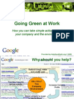 Going Green at Work - HelpSaveEarthorg