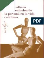 Goffman_ENTERO_La presentación de la persona en la vida cotidiana_BB