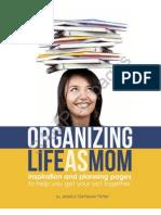 2012 Organizing Life as MOM Sample