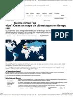 Guerra virtual 'en vivo'_ Crean un mapa de ciberataques en tiempo real – RT
