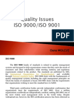 Quality Issues ISO 9000