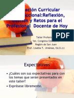 Alineacion Curricular e Instruccional