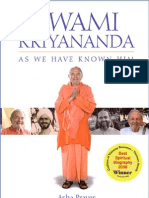 Asha Praver - Swami Kriyananda as We Have Known Him