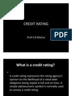Credit Rating 1