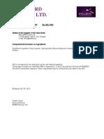 BB-Oil-Gel-Pen - Biztonsági adatlap