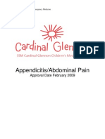 Appendicitis and Abdominal Pain 7.09