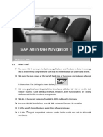 SAP User Navigation
