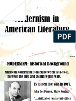 Modernism in American Literature