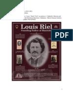 Louis Riel (1844-1885)
