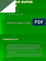 Hydrogen Super Highwngfcay Seminar Report