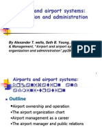 0316Airports and Airport Systems--Organization Administration